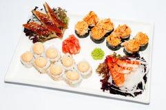 Sushi-ruede Imagenes de archivo