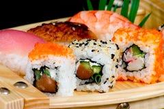 Sushi-ruede Imagen de archivo libre de regalías