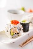 Sushi and sake Stock Image