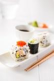 Sushi and sake Royalty Free Stock Photo