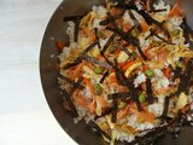 Sushi-Salat Lizenzfreies Stockbild
