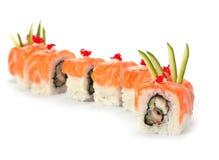 Sushi with salmon Stock Photo