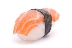 Sushi with Salmon Stock Photos