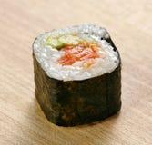 Sushi with salmon and avocado Royalty Free Stock Photos