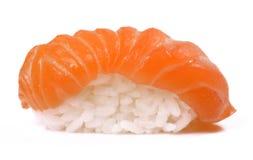 Sushi. Salmon sushi isolated on white background Stock Images