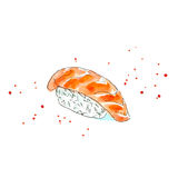 Sushi of a salmon. Royalty Free Stock Photo