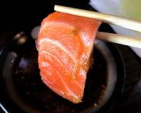 Sushi Salmon. stock image
