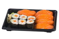 Sushi salmon mix Royalty Free Stock Photography
