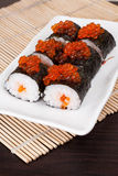 Sushi with salmon roy Stock Photography