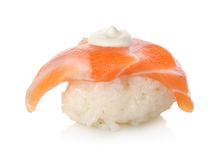 Sushi salmon sake Royalty Free Stock Photography