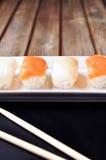 Sushi samurai Royalty Free Stock Image