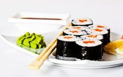 Sushi saporiti Immagine Stock