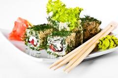 Sushi saporiti Immagini Stock