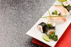 Sushi and Sashimi Stock Images