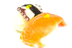 Sushi and sashimi Royalty Free Stock Photography