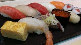 Sushi-Sashimi Lizenzfreies Stockbild
