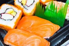 Sushi and sashimi Stock Photography
