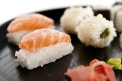 Sushi,sashimi,Maki Japanese cuisine. Stock Photos