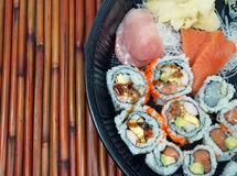 Sushi and Sashimi Platter Royalty Free Stock Images