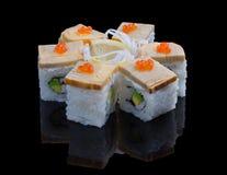 Sushi-Satz Lizenzfreies Stockbild