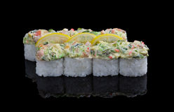 Sushi-Satz Stockfoto