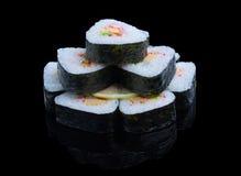 Sushi-Satz Lizenzfreie Stockfotos