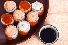 Sushi sauce Stock Photography