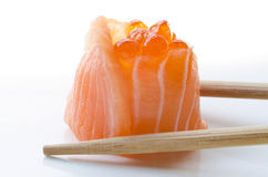 Sushi saumonés Photo stock