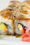 Sushi savoureux Image libre de droits