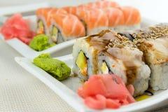 Sushi savoureux Photos libres de droits