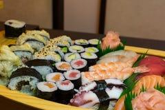 Sushi and sea food Royalty Free Stock Photo