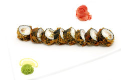 Sushi with seafood Stock Photos