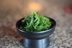 Sushi seaweed salad Royalty Free Stock Images
