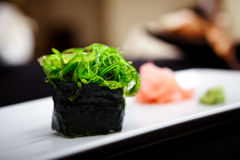 Sushi with seaweed Stock Photography