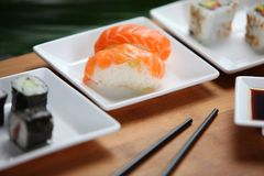 Sushi selection Stock Photos