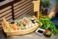 Sushi Selection Stock Images