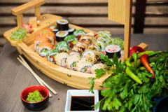 Sushi Selection Royalty Free Stock Photography