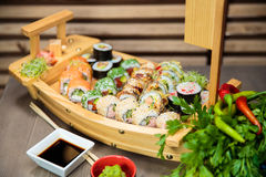 Sushi Selection Royalty Free Stock Image