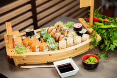 Sushi Selection Stock Image