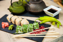 Sushi Selection Stock Photos