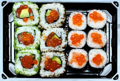 Sushi selection Stock Photo