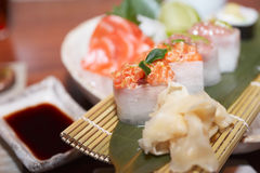 Sushi set Stock Photos