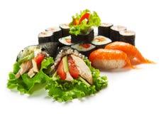 Free Sushi Set Royalty Free Stock Photo - 13162465