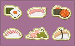 Sushi set Royalty Free Stock Photo