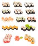 Sushi set Stock Photos