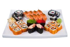 Sushi-Set Stockfotografie