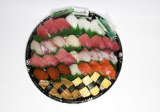 Sushi set. Sashimi set Royalty Free Stock Photos
