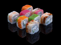 Sushi Set Allsorts Royalty Free Stock Images