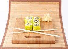 Sushi set background Stock Images