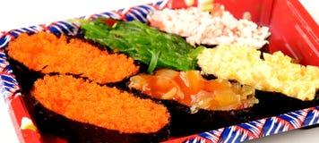 Sushi set isolated Stock Images